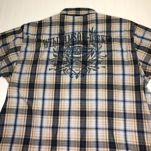 Williamson Dickies Logo Short Sleeve Shirt 2XL